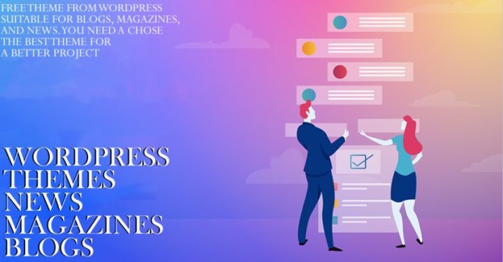 Free theme from WordPress suitable for blogs magazines and News. you need a chose the best theme for a better project