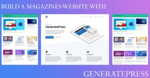 BUILD A MAGAZINES WEBSITE WITH